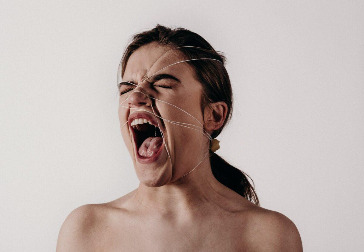 woman's face photograph